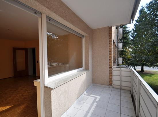 Referenzen Bösl Immobilien Balkon Wohnung