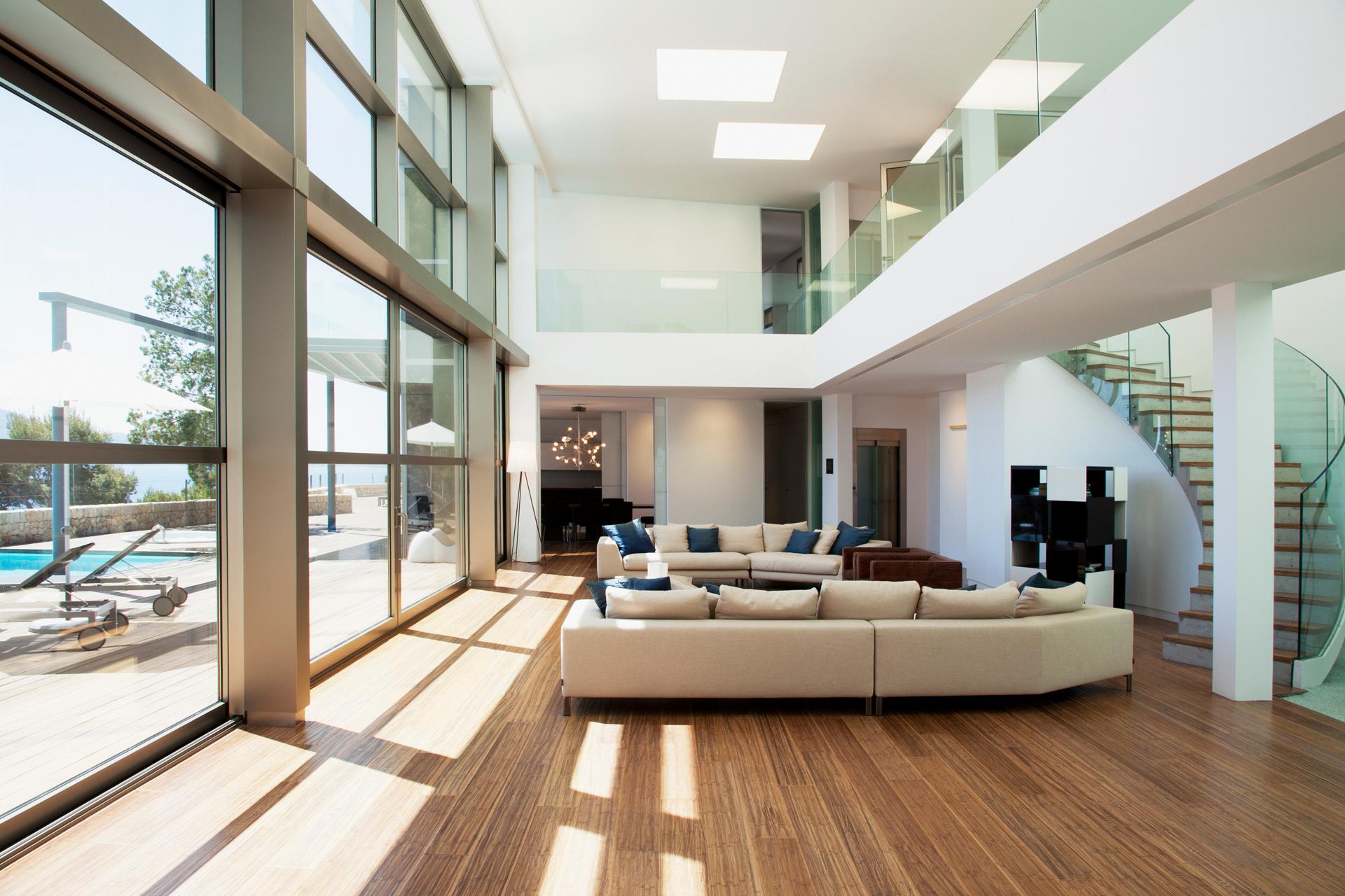 iStock Bösl Immobilien Wohnzimmer Villa