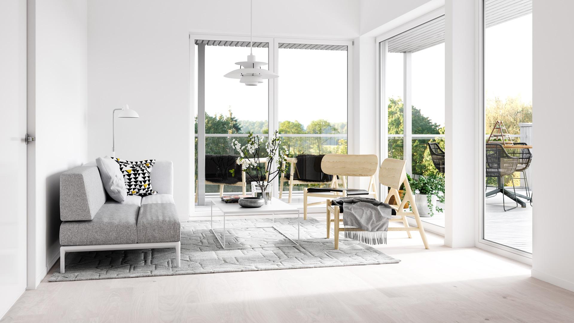 iStock Immobilie Wohnzimmer Bösl Immobilien