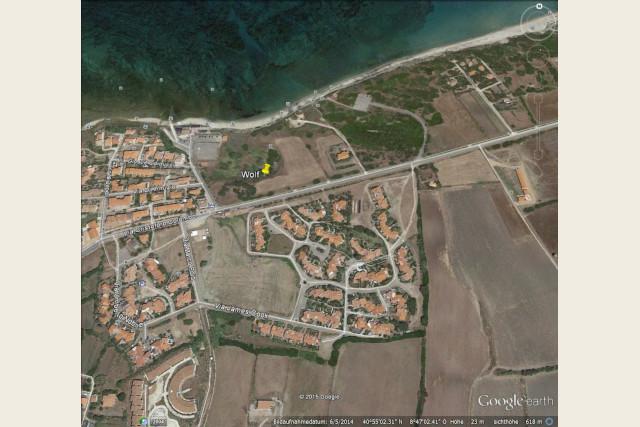 Strandgrundstück Sardinien